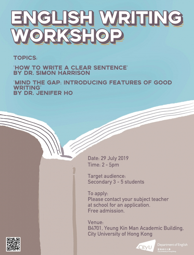 English Writing Workshop 2019