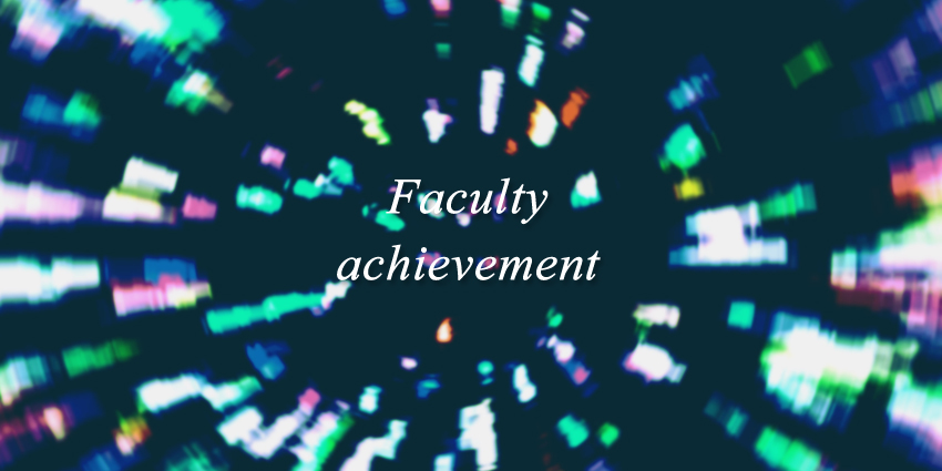 Faculty achievement